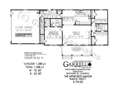 Split Bedroom Ranch Floor Plans Split -level Ranch, One