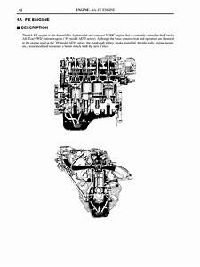 4a U2013fe Engine