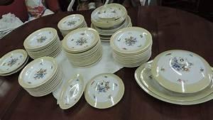 Vaisselle En Porcelaine : service vaisselle porcelaine de limoges ~ Teatrodelosmanantiales.com Idées de Décoration