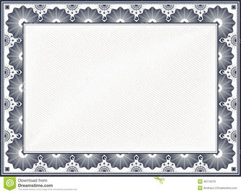 certificate border template vintage certificate borders blank certificates