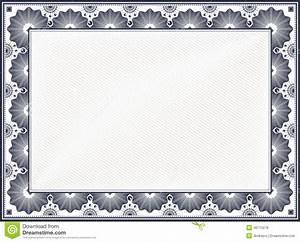Vintage Certificate Borders | Blank Certificates