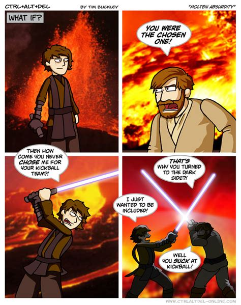 B ^ Uckley with the hilarious Star Wars jokes : ComedyCemetery