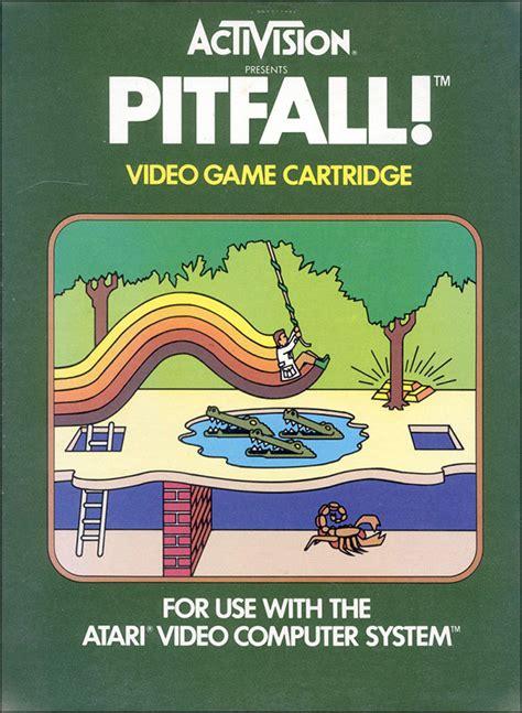 The Art Of Activision Atari Covers