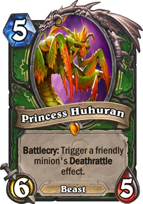 princess huhuran hearthstone card