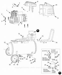Campbell Hausfeld Hx500100 Parts Diagram For Air
