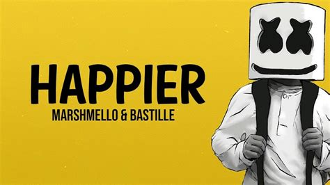 Marshmello Ft Bastille  Happier Youtube