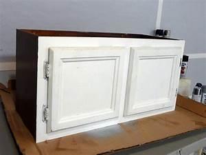 Upcycle Kitchen Cabinets Into a Storage Bench how-tos DIY
