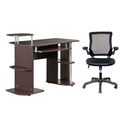 computer desk and chair set 2 office set with computer desk and chair walmart