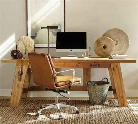 bureau meuble bois bureau bois design 50 belles propositions