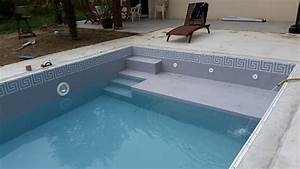 beau pose de margelle piscine 8 pvc mosa239n233 With pose de margelle piscine
