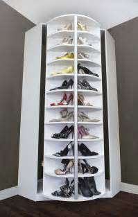 garderobe selber machen spinning shoe rack spinning idea what a great invention stores up to 228 pairs of shoes