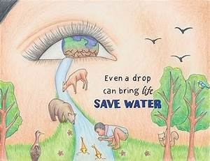 can some one give me 5-6 posters on save water to teach ...