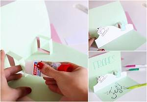 Pop Up Karte Basteln Diy Pop Up Karte Einladungskarte Zur