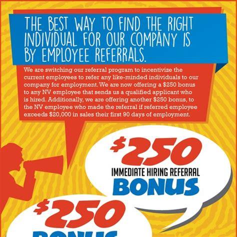 Employee Car Program by Employee Referral Program Flyer はがき チラシ 各種印刷物コンペ