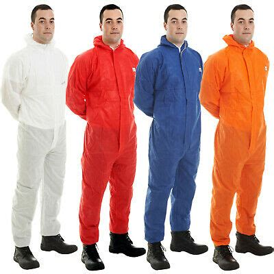 disposable coverall suit hood paint hygiene farming