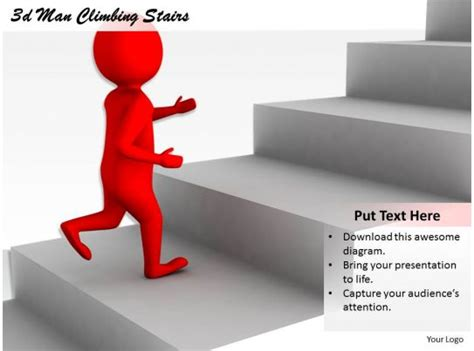 man climbing stairs  graphics icons powerpoint