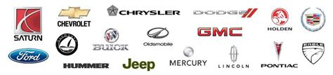 The Gallery For > American Car Brands