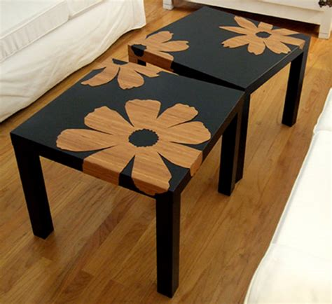Customiser Une Table Basse Diy Personnaliser La Table Basse Lack Ikea Joli Place