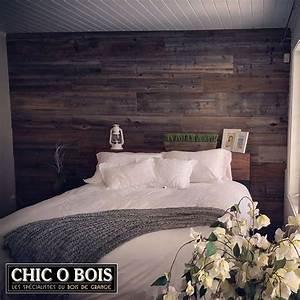 realisations de mur en bois de grange With mur de chambre en bois