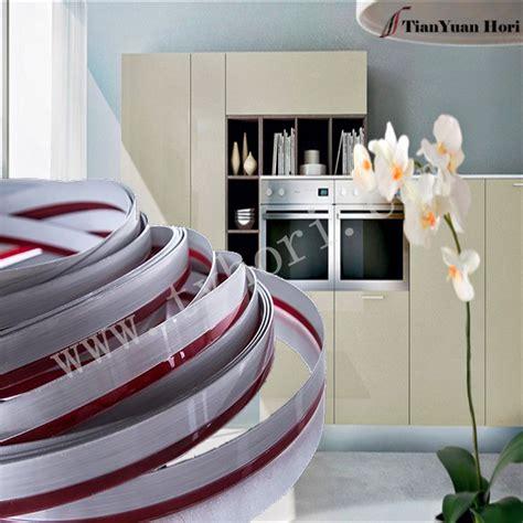 modern house design metal trimmer edge tape  furniture kitchen cabinet pvc edge banding