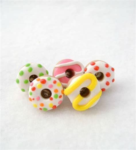 handmade buttons donut  owl accessories handmade