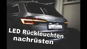 Audi A4 B9 Nachrüsten : audi a4 b9 8w led r ckleuchten mit dynamischen blinker ~ Jslefanu.com Haus und Dekorationen
