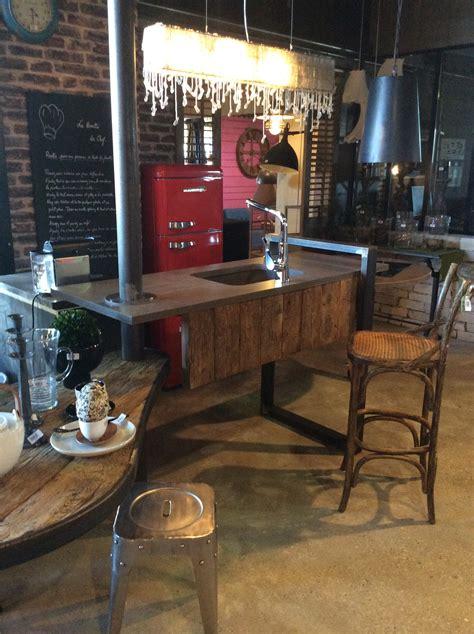 meuble de cuisine industriel meuble salon style industriel homesus