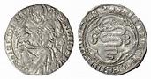Milan. AR Grosso. Gian Galeazzo Visconti. 1395-1402