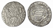 Milan. AR Grosso. Gian Galeazzo Visconti. 1395-1402 ...