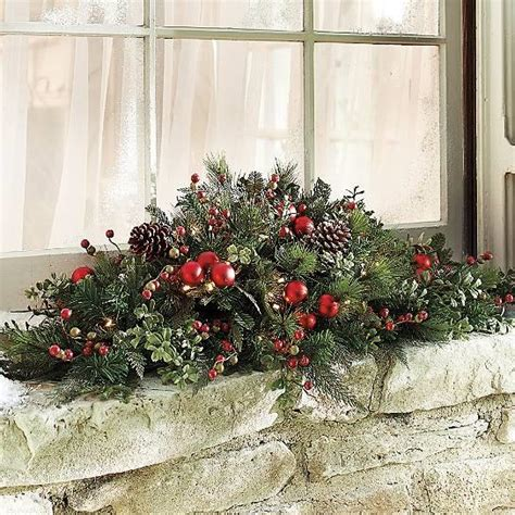 merry berry outdoor pre lit cordless wreath