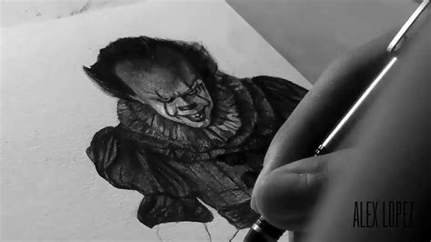 Drawing Pennywise (it 2017) (commission)