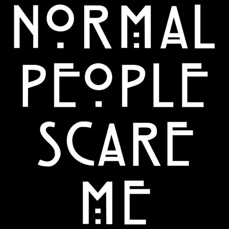 Normal People Scare Me T-Shirt – The Dark Scythe