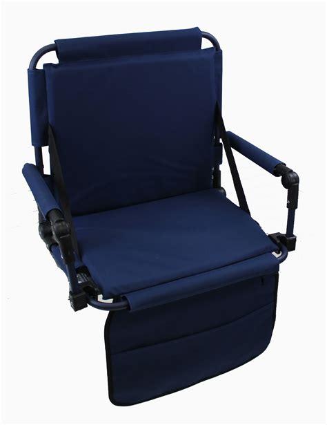 bahama deluxe folding stadium chair pacific import original bleacher bum portable folding