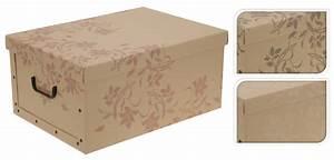 Box Mit Deckel : 2er aufbewahrungs box mit deckel naturmuster kiste karton schachtel pappe ebay ~ Orissabook.com Haus und Dekorationen