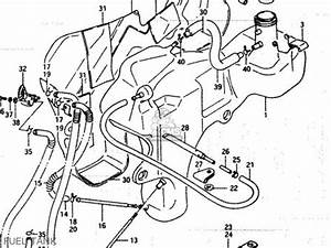 Suzuki Lt250ef 1985  F  Parts List Partsmanual Partsfiche