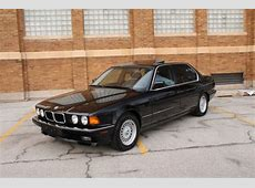 BMW 7Series Sedan 1992 Black For Sale WBAGC8319NDC80929