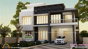 Simple contemporary house and plan - Kerala home design ...