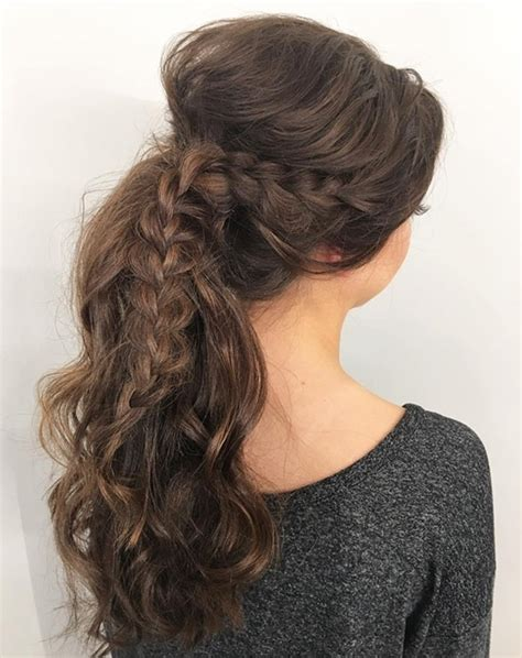Quick Easy Back School Hairstyles For Girls