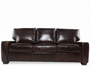 sofas leather sleeper sofas dark brown sofa television With leather sleeper sofa