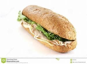 Turkey And Cheese Sub Royalty Free Stock Image - Image ...