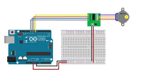 Uln Stepper Motor Driver With Byj