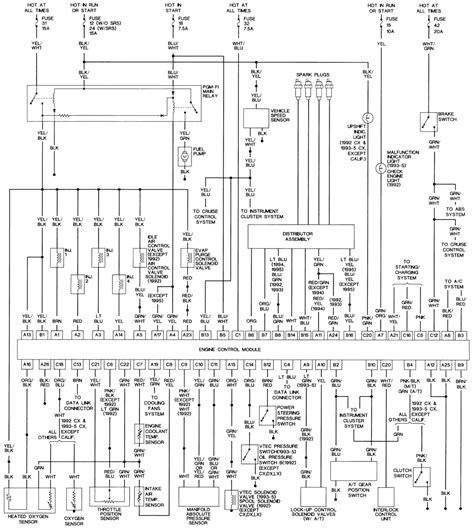 1998 Honda Civic Stereo Wiring Diagram by 1993 Honda Civic Radio Wiring Wiring Diagram
