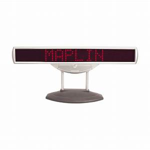 6v red led light letter scrolling message display board ebay With led letter display