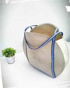 Faire Un Sac : comment faire un panier rond pour l 39 t couture ~ Nature-et-papiers.com Idées de Décoration