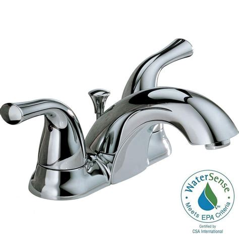 Delta Windemere Bathroom Faucet Bronze by Perth Monoblock Faucet Polished Chrome 7431152 002 In