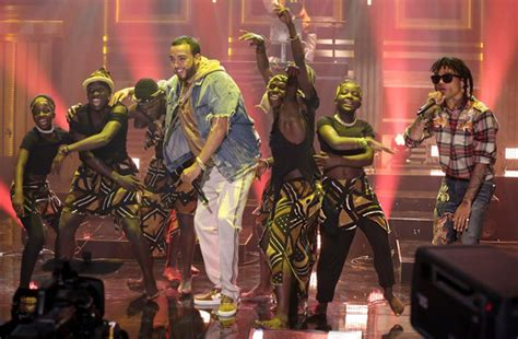 swae lee and french montana french montana swae lee perform unforgettable on