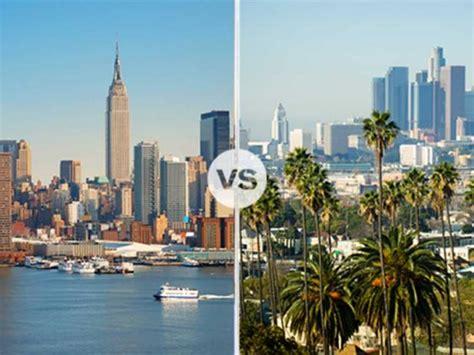 york  los angeles destination showdown travel