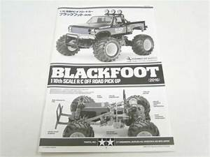 Tamiya Blackfoot 2016 Manual Parts Guide Te10 For Sale