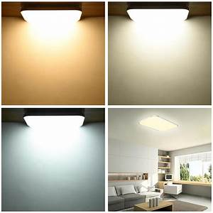 W modern flush mount led ceiling light pendant