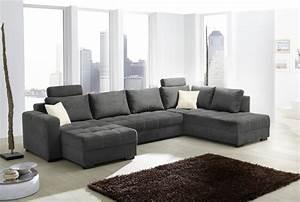 Canapé En L : canap en u antego gris sb meubles discount ~ Teatrodelosmanantiales.com Idées de Décoration